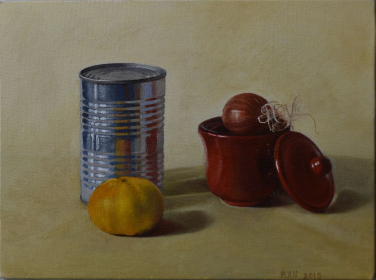 """""""reflections"""" still life oil painting by Paola Ali' - Image 0"""