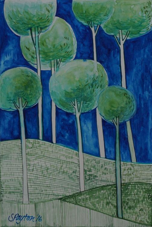 Stillness of Trees no. 4 - Image 0