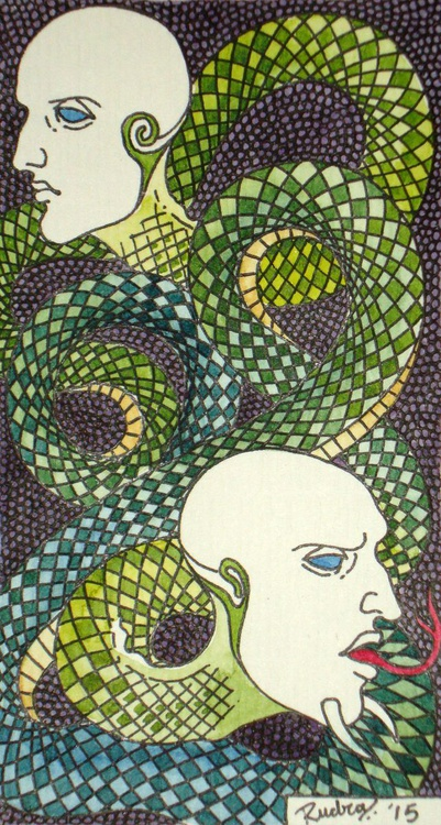 Tiny Deceptions 2 -  The Two Faced Snake (Double Speak) - Image 0