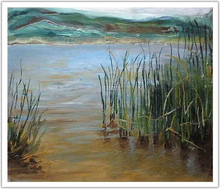 Lake in Vale Da Telha  -