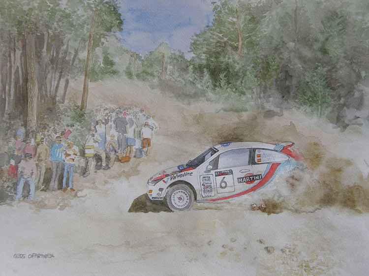 Ford Focus WRC. -