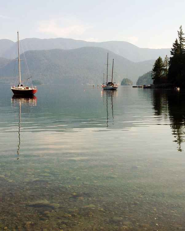 Deep Cove Afternoon -