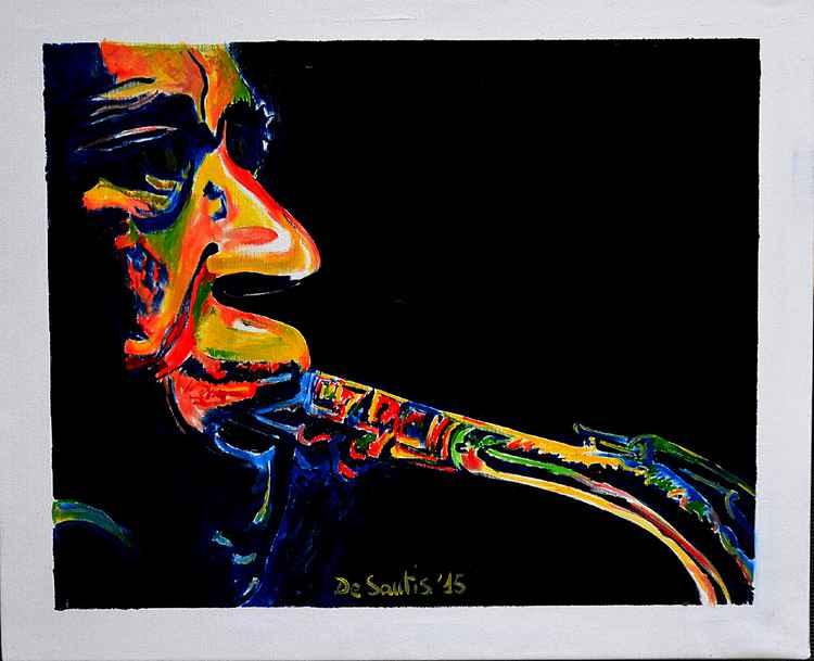 Jazz blue mood