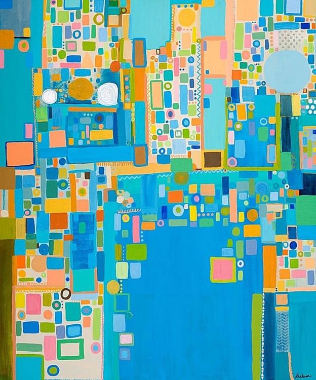 Crossroads (100x100cm) - Image 0
