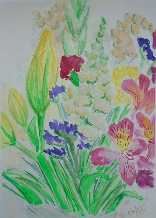 Flower bouquet I -