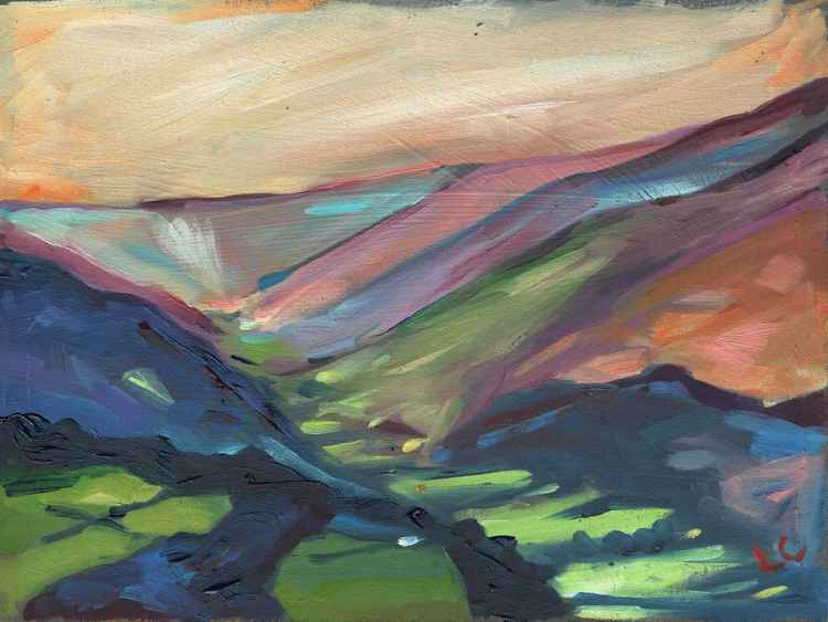 Black Mountains Pink.   No.53 of 365 Project -