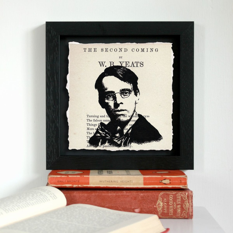 W. B. Yeats - The Second Coming (Framed) - Image 0