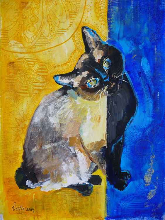Morning Cat, Evening Cat SOLD