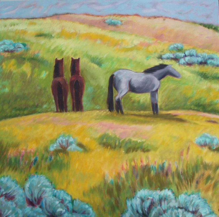 """Badlands Ponies"" - Image 0"