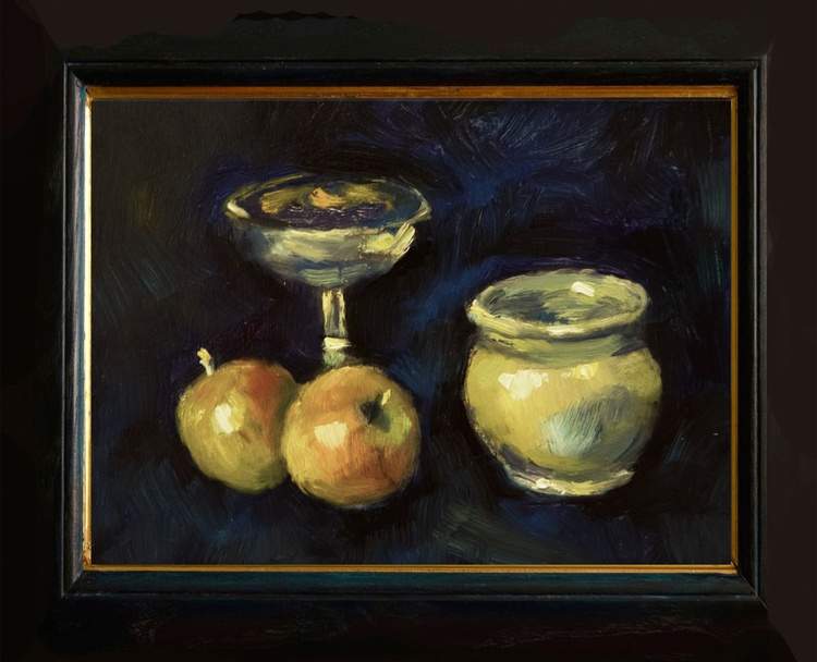 Still Life with Fruit, Chalice and Bowl - Image 0