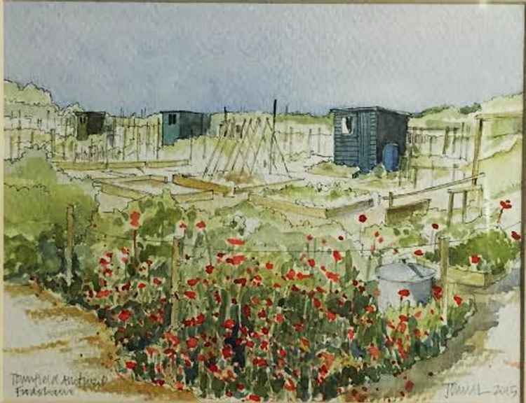One allotment, three sheds - Image 0