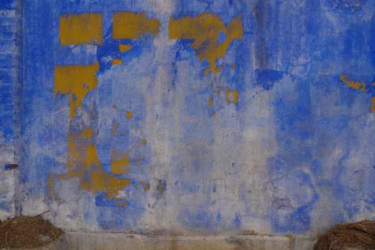 Blue Wall 6 -