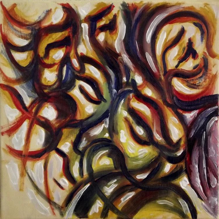 Illusionistic figure - Face combination #11 - LOOK OF HOPE - Image 0