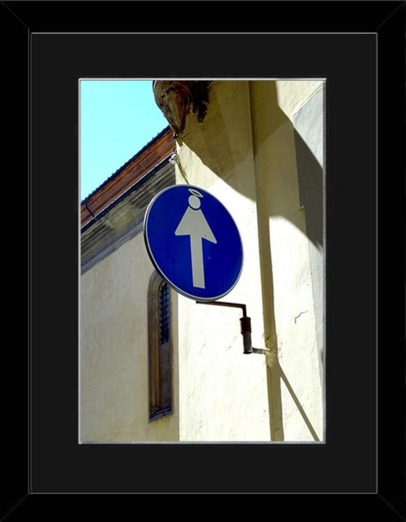 Halo Sign - Florence - Framed - Image 0