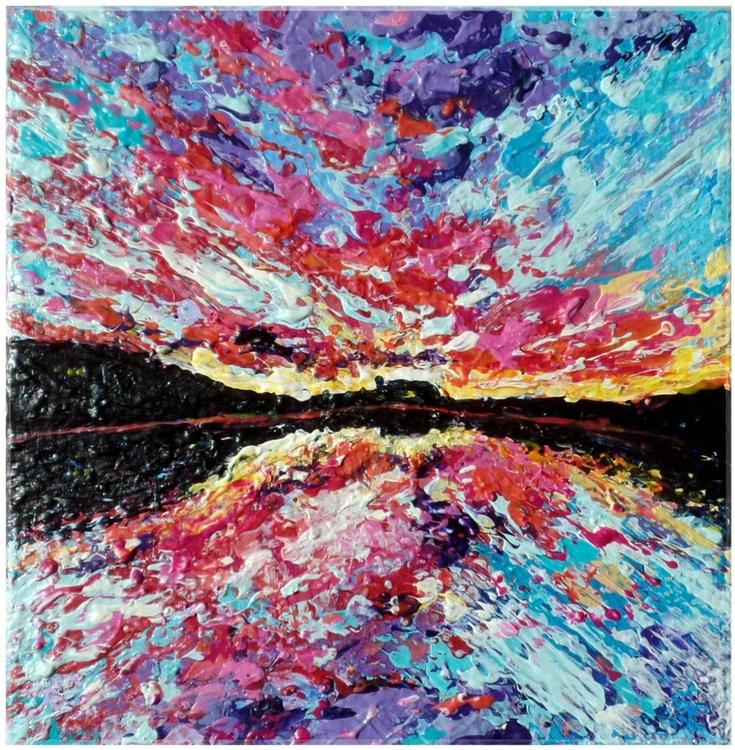 Floating on the sunset - Image 0
