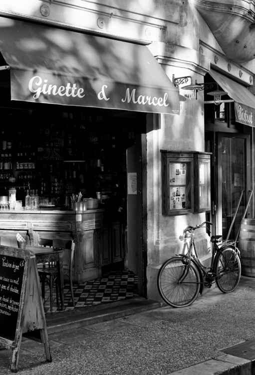 Ginette & Marcel Cafe - Avignon France -