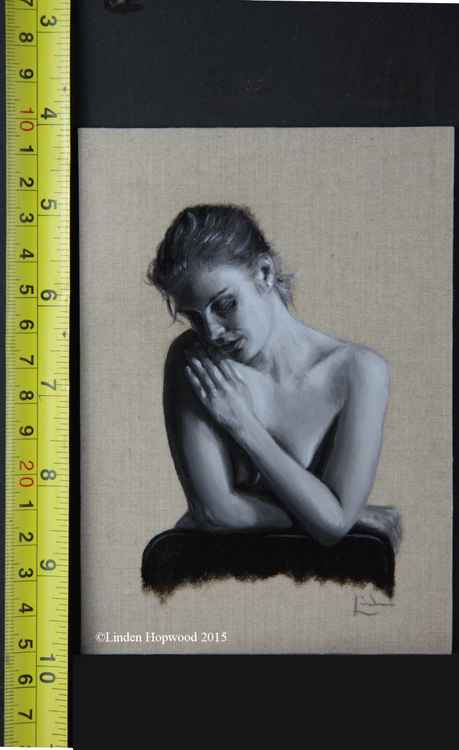 Miniature grisaille study #1 -