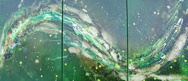 Argentum Wave 18 (Triptych) - Image 0