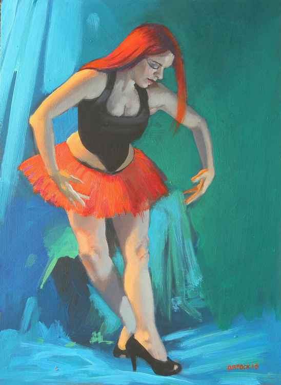 Ballet pose -