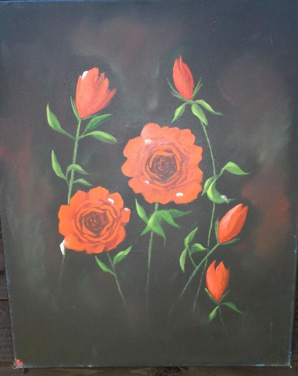 Roses weeping. - Image 0