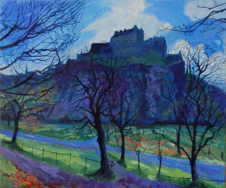 Edinburgh Castle, Early Spring, 2016 - Image 0