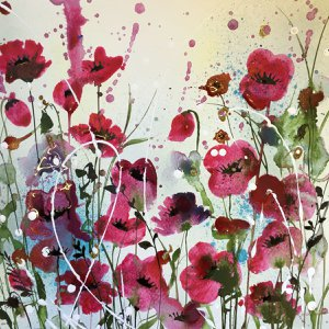 Poppies by Jane Morgan
