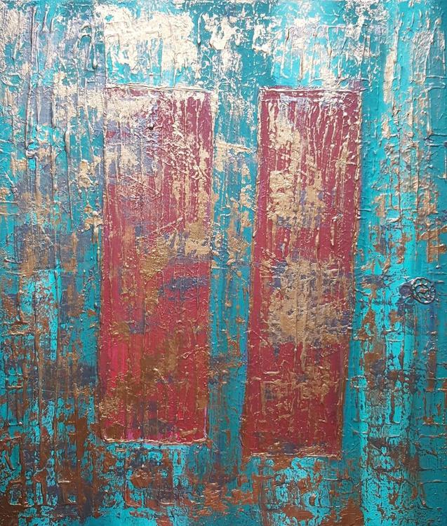 Long Forgotten - Original textured painting - Image 0