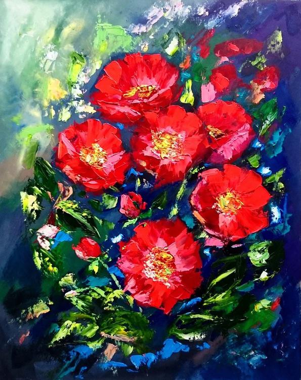 Scarlet flowers - Image 0