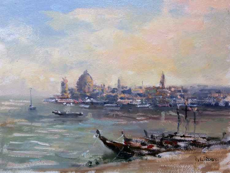 Lagoon from Venice -