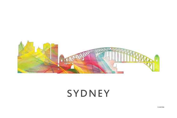 Sydney Australia Skyline 2 WB1 -