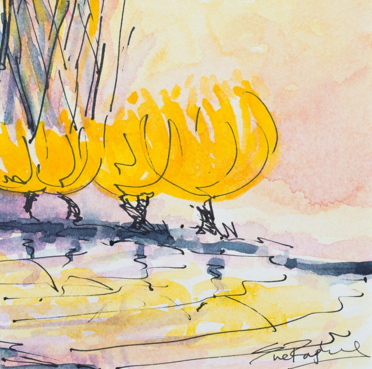 Golden River Trees - Image 0