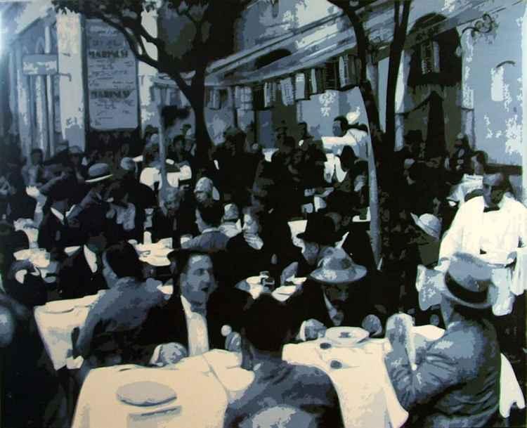 Italian Cafe Scene