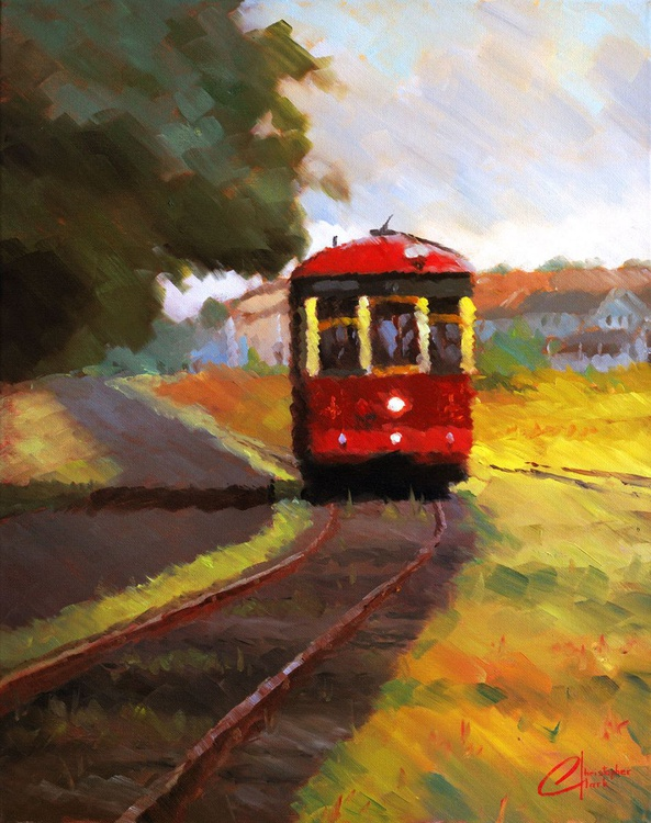 Trolley in Astoria - Image 0