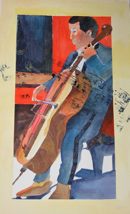 The Cellist - Image 0