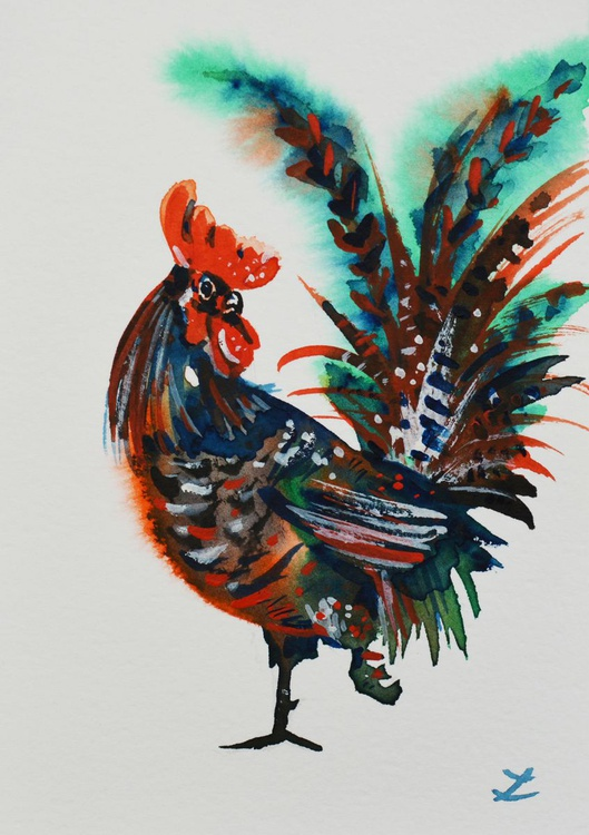 Walking Rooster - Image 0