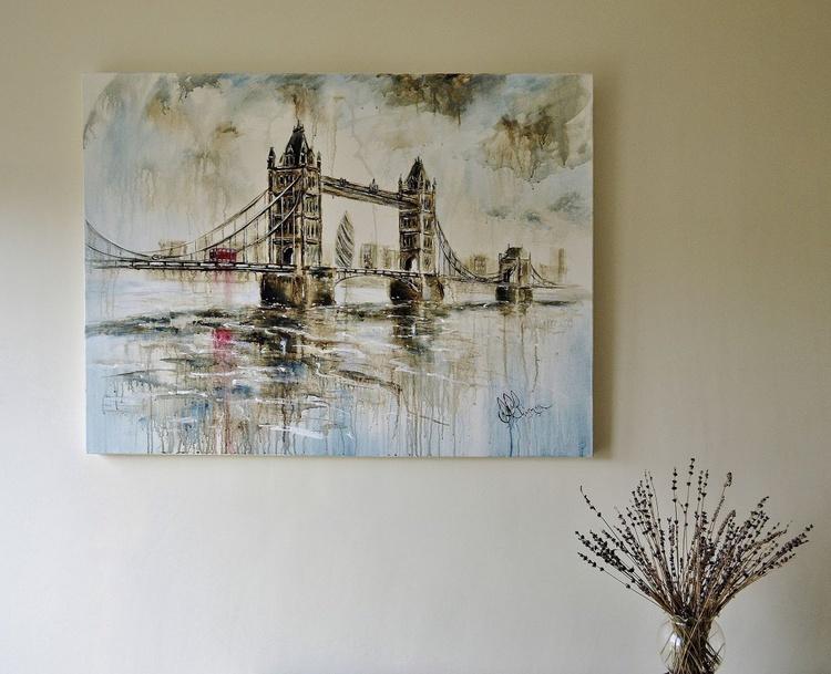 Skyfall Over Tower bridge - Image 0