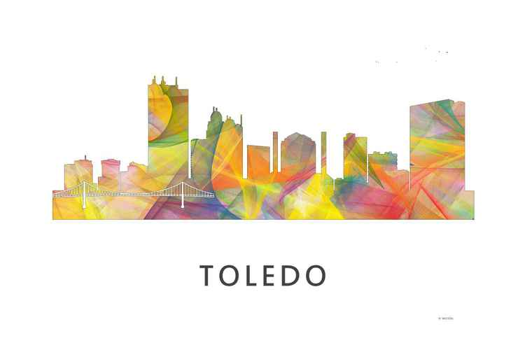 Toledo Ohio Skyline WB1 -