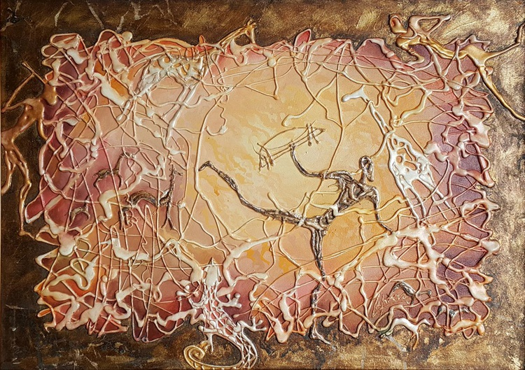 Cave paintings in Africa - Image 0
