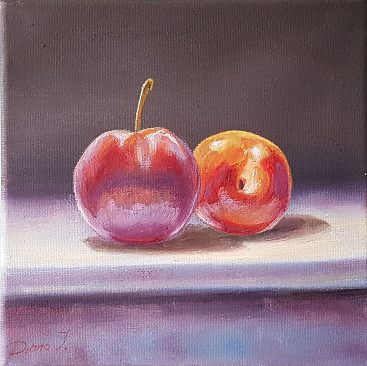 Two plums - Image 0
