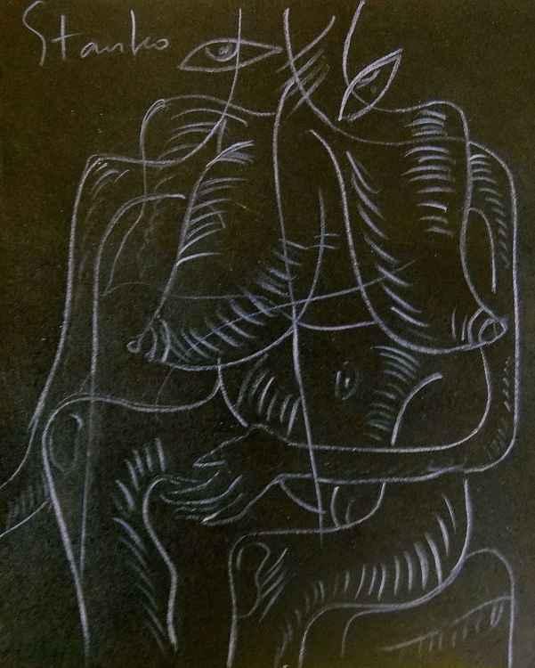 Erotics-XXII (grotesque) -