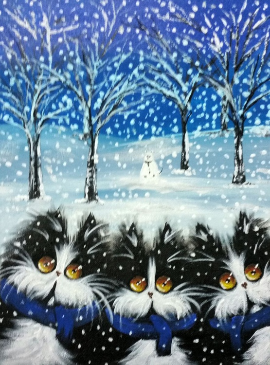 Winter cats - Image 0