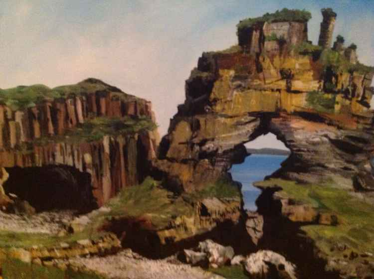 Carsaig. Arches isle of Mull -