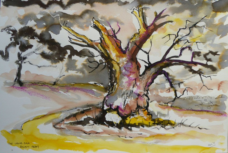 'The Laund Oak, Bolton Abbey' - Image 0