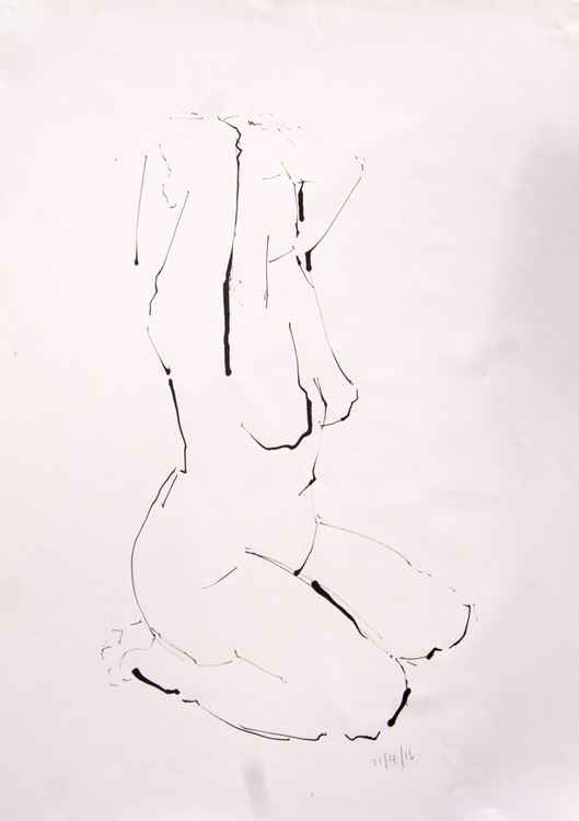 Life Drawing No 73 -
