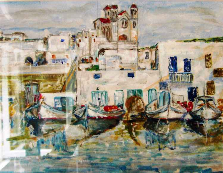 Naoussa,Paros,Greece -