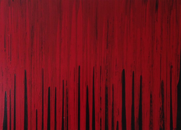 Red and Black No 4 - Image 0
