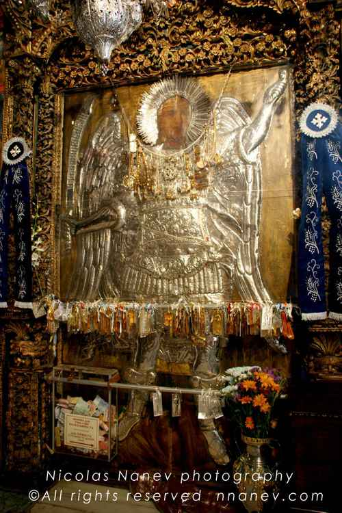 Miraculous icon of Panormitis Symi