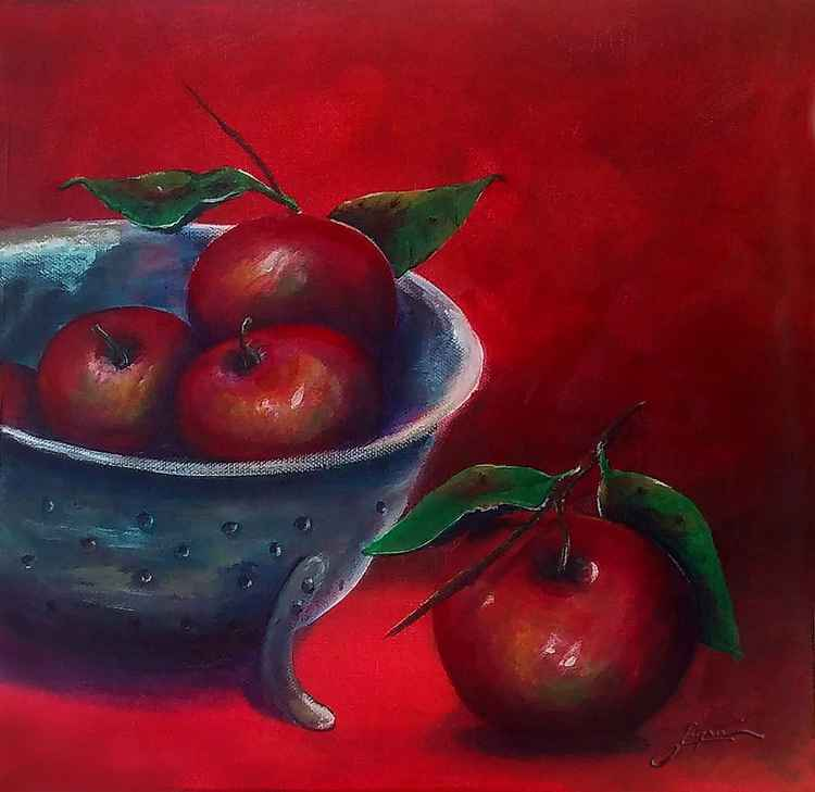 Still life No. 2 Apples