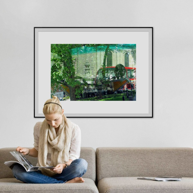 """BUS NO:23 (Limited edition  1/10 40""""X30"""" - Image 0"""
