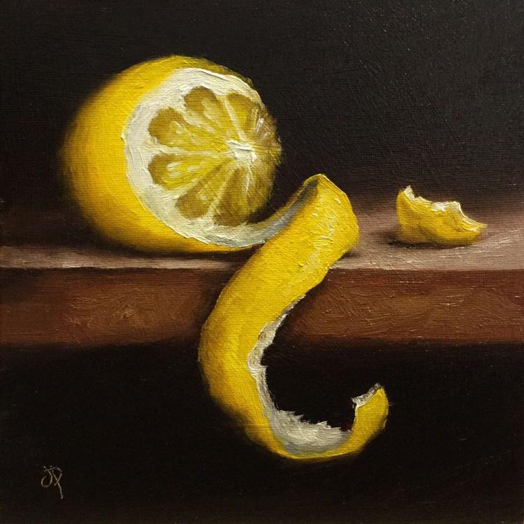 Peeled Lemon #4 - Image 0